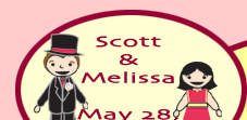 Scott & Melissa; May 28, 2005